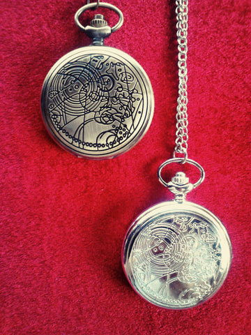 Gallifreyan Pocket Watch