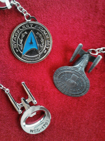 Star Trek Key Chains & Bottle Openers