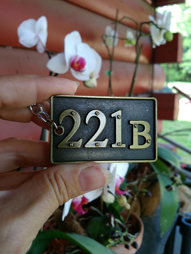 221B Key Chains