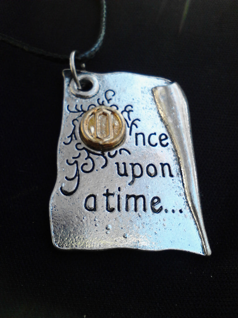 Once Upon A Time Page Pendant