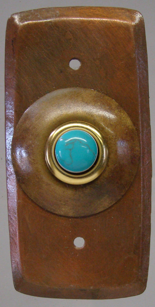 Rectangle Doorbell Copper W/ Copper