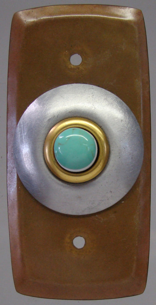 Rectangle Doorbell Copper W/ Aluminum