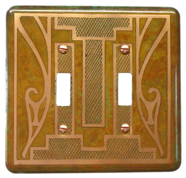 Etched Dbl. Copper Verde Montana