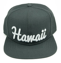 Hawaii Snapback Flatbill Hat