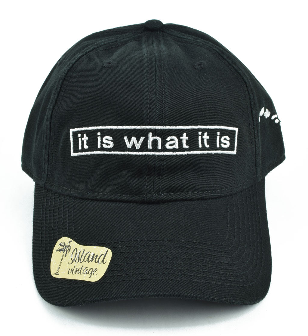 Is What It Is Hat - Red Dirt Maui