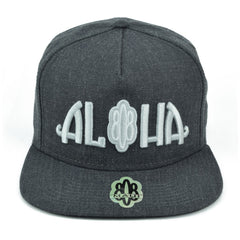 Aloha 808 3D Flatbill Hat - Red Dirt Maui