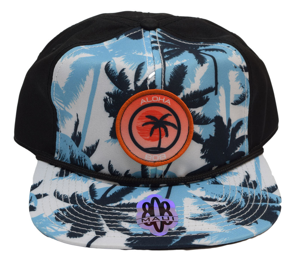 Palm Tree Patch Flatbill Hat - Red Dirt Maui