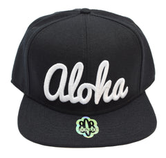 Aloha 3D Flatbill Hat - Red Dirt Maui