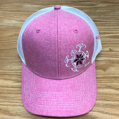 Flower Honu2 Trucker Hat - Red Dirt Maui