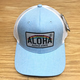 Hawaii License Plate Trucker Hat - Red Dirt Maui
