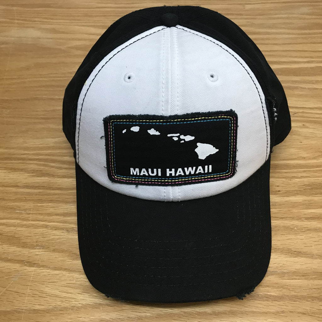 Hawaiian Island Maui Patch Hat