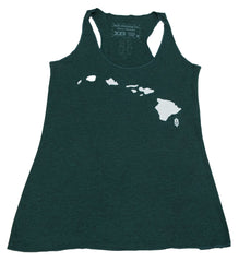 Women's Hawaiian Islands Tank Top - Red Dirt Maui