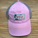 Palm Tree Patch Trucker Hat - Red Dirt Maui