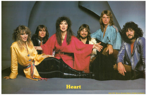 Heart Band Portrait Poster 11x17
