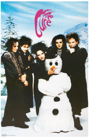 The Cure Snowman Band Portrait Poster 11x17