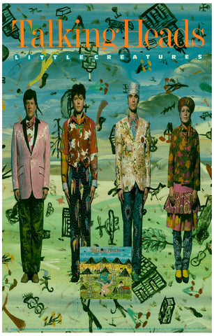 Talking Heads Little Creatures Album Cover Poster 11x17