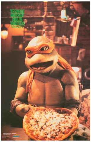 Teenage Mutant Ninja Turtles Michelangelo Poster 11x17