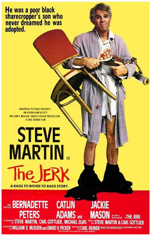 The Jerk Steve Martin Movie Poster