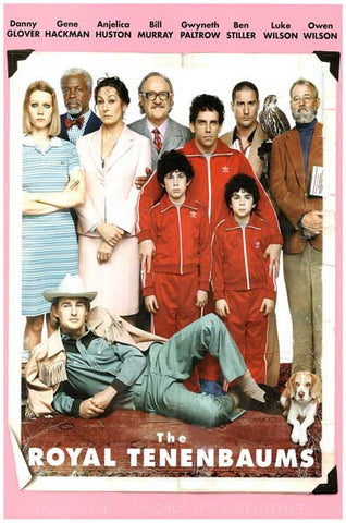 Royal Tenenbaums Movie Poster