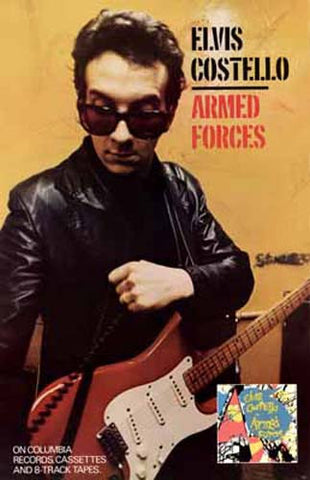 ELVIS COSTELLO ARMED FORCES 11x17 POSTER