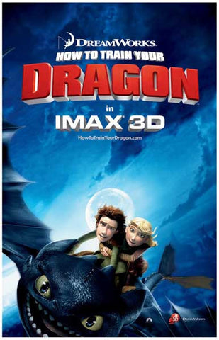How to Train Your Own Dragon 11x17 Poster