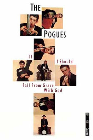 POGUES SHANE MACGOWAN IF I SHOULD FALL 11x17 POSTER