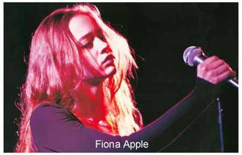 Fiona Apple Portrait Poster