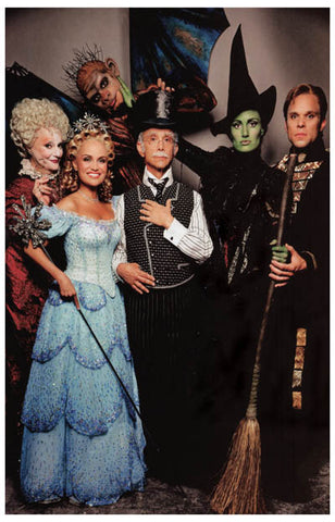 Wicked Broadway Cast Idina Menzel et al 11x17 Poster