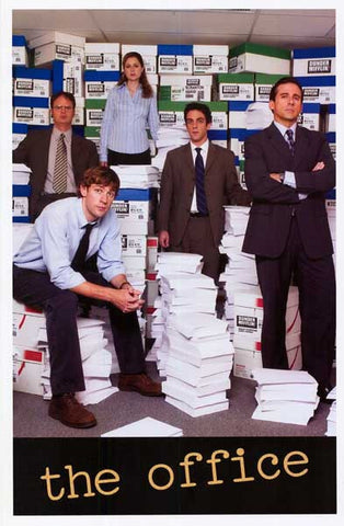 THE OFFICE US CAST Steve Correll 11x17 POSTER