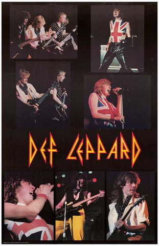 Def Leppard Band Poster