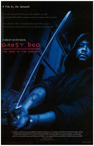 GHOST DOG WAY OF SAMURAI WHITAKER JARMUSCH 11x17 POSTER