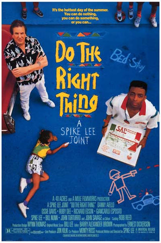 DO THE RIGHT THING SPIKE LEE 12x18 POSTER