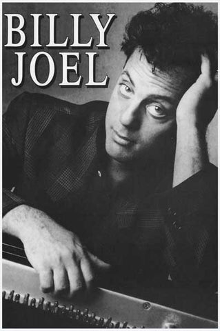 Billy Joel Portrait Poster