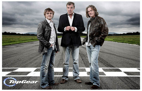 Top Gear BBC Jeremy Richard & James Cars 11x17 Poster