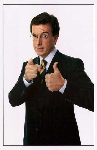 Stephen Colbert Thumbs Up Colbert Report 11x17 Poster