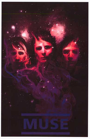 Muse Band Poster