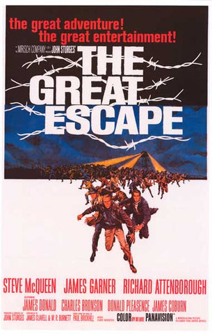 The Great Escape McQueen Garner 11x17 Poster