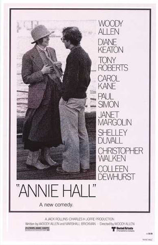 Annie Hall Woody Allen Movie Poster