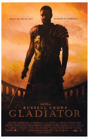 Gladiator Echoes in Eternity Russell Crowe 11x17 Poster