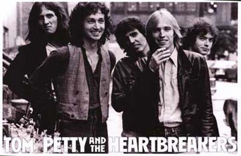 Tom Petty & The Heartbreakers Group Shot 11x17 Poster