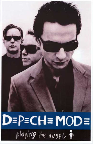 Depeche Mode Band Poster