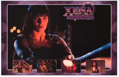 Xena Warrior Princess Lucy Lawless 11x17 Poster