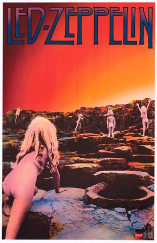 Led Zeppelin Houses of the Holy Poster