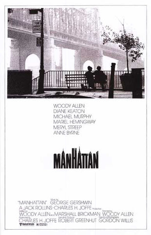 Manhattan Woody Allen Movie Poster