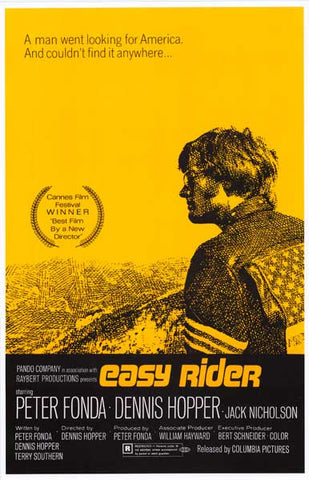 Easy Rider Cannes Movie Poster