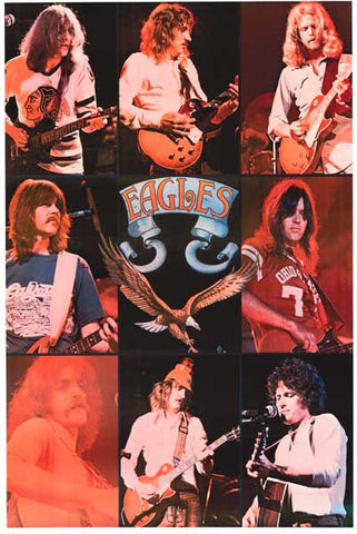 The Eagles Band Poster