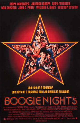 Boogie Nights Movie Poster