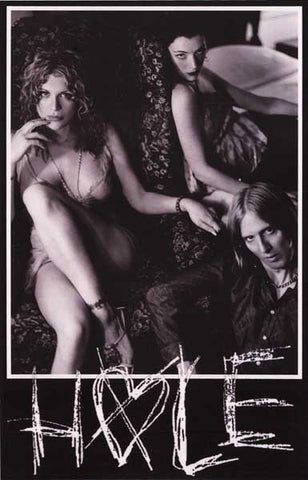 Hole Courtney Love Band Poster