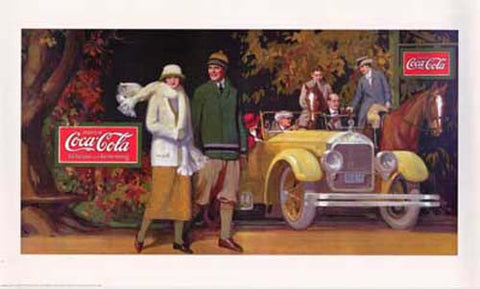 Coca-Cola Vintage Ad Art The Good Life 11x17 Poster