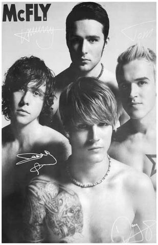 McFly Band Poster